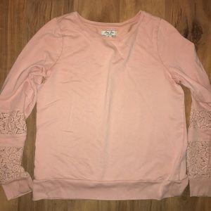 Light pink lucky brand sweater